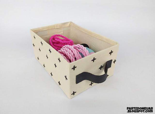 caixa organizadora como fazer