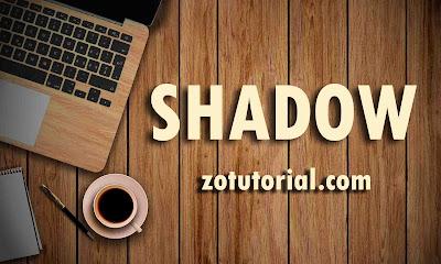 Tutorial Membuat Efek Bayangan (Drop Shadow) di Photoshop CS & CC