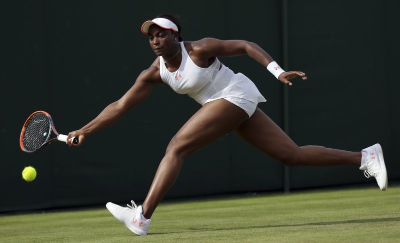 Sloane Stephens  Exit Wimbledon less than 6 month after her surgery,losing a 6-2, 7-5 loss to Alison Riske