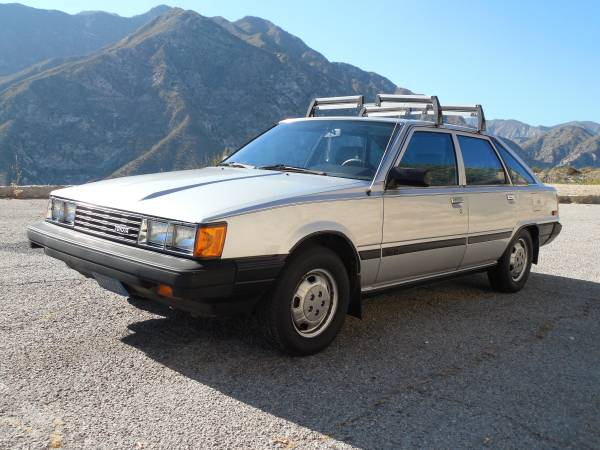 Daily Turismo: They Made That? 1984 Toyota Camry Liftback