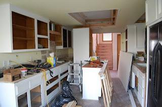 Replace Florescent Kitchen Light