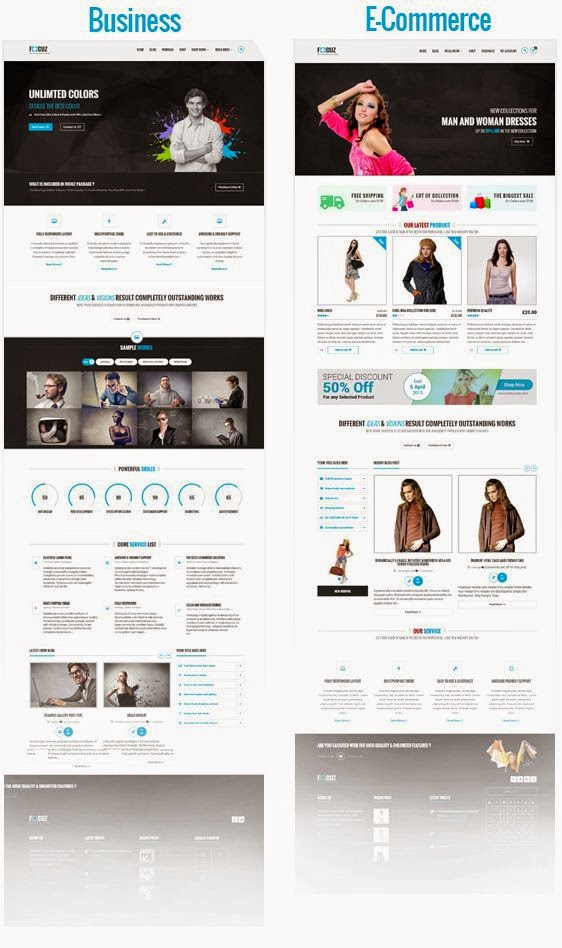 New Premium WordPress Theme