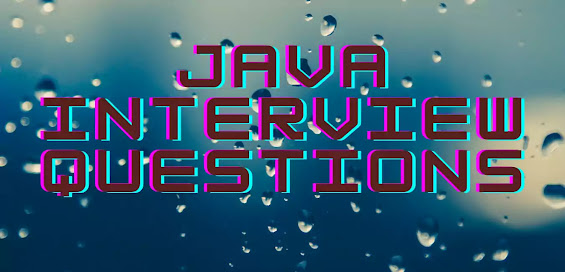 Java Interview questions and answers