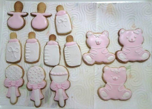 Favoloso Otto&Miky: Biscotti Nascita Bimba EP45
