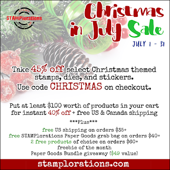STAMPlorations Christmas in July Sale!
