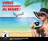 Logo Concorso ''Vinci un soggiorno al mare '' con Caffè dal Mondo