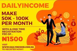 How to make 40k per Week on DAILYINCOME