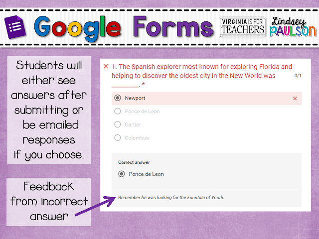 How to grade work with Google Forms easily with new Quiz feature.