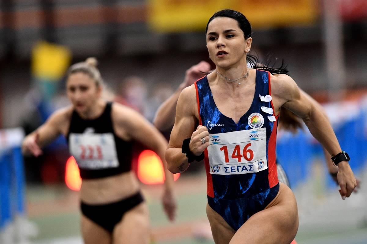 Νίκη με φετινό ρεκόρ για την Ραφαέλα Σπανουδάκη