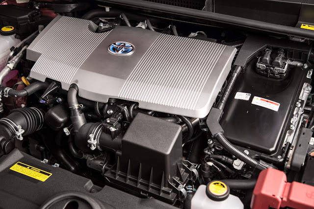 novo Toyota Prius 2017 - motor