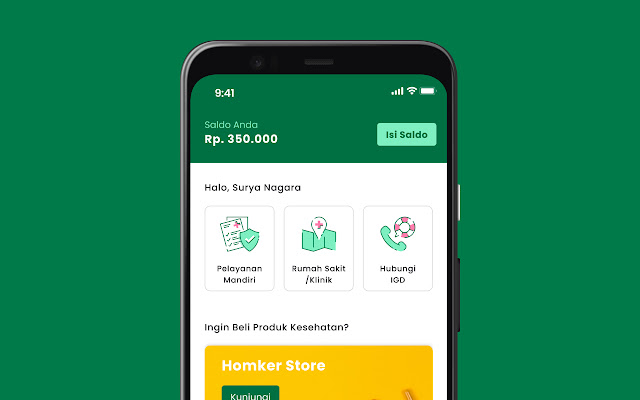 Homker Mobile App Redesign (2020 - 2021)
