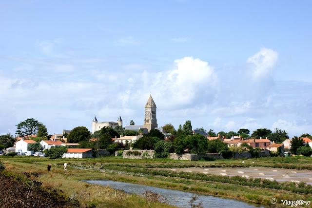 Il nucleo urbano di Noirmoutier en Ile