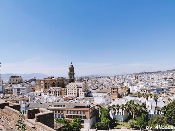 Alcazaba-Malaga-castel-obiectiv-turistic