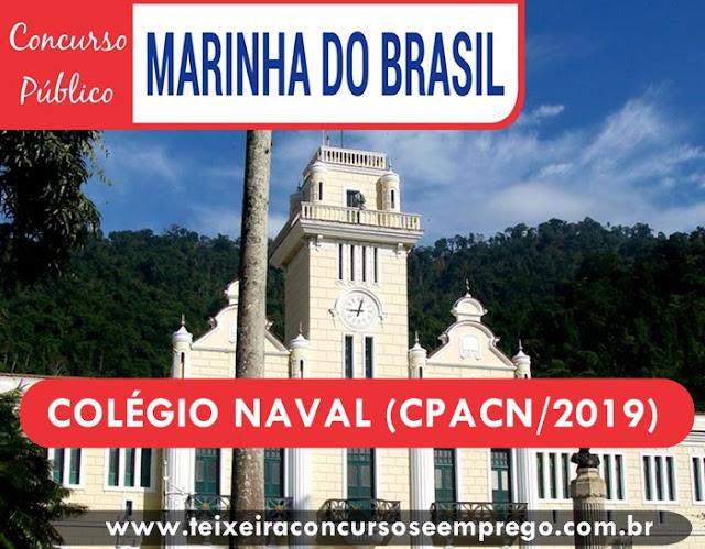 concurso Marinha abre para 190 vagas no CPACN/2019