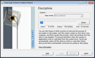 برنامج, تشفير, قوي, لإنشاء, العديد, من, محركات, الأقراص, المشفرة, VeraCrypt