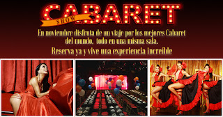 "VIVE CABARET ""Un intimo Cabaret Presencial"""