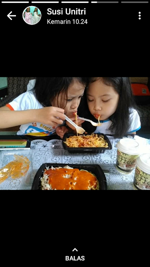 Spandes ( Spaghetti Ndeso)