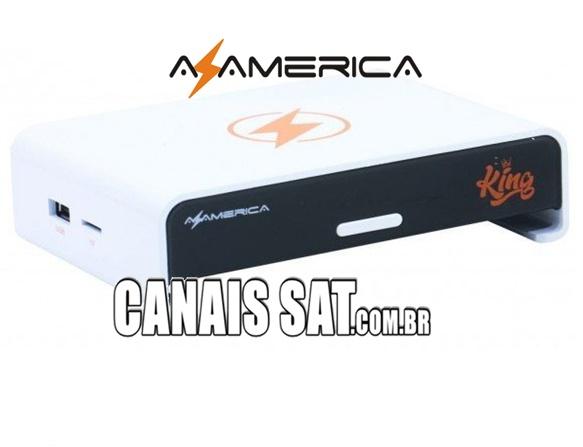 Azamerica King IPTV Atualização V1.2.26 - 04/03/2021