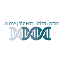Journey of a non clinical doctor