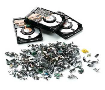 Hard drive shredding is one of approaches