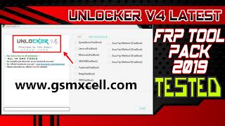 Unlocker V4 One Click FRP Tool Pack 2019