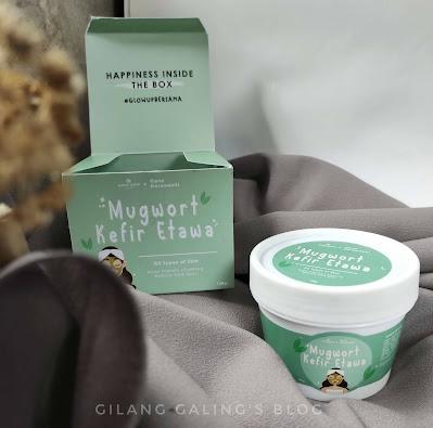 Glow Up Bersama Mugwort Kefir Etawa yang bikin kulit cerah dan lembut