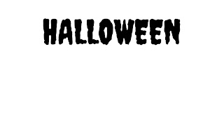 Halloween printable cards in black and white, free printables