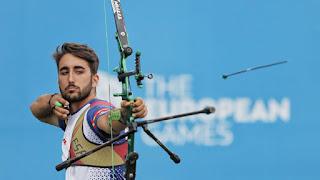 JUEGOS EUROPEOS Minsk 2019 - El arco recurvo cuenta con plaza olímpica gracias al bronce de Pablo Acha