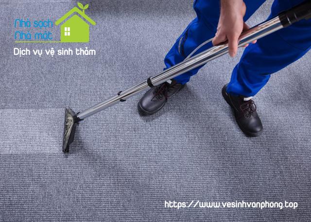 Bảng giá dịch vụ giặt thảm văn phòng tại Hồ Chí Minh