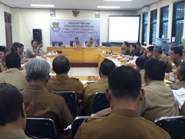Pilkades Serentak Di Kabupaten Tangerang Di Undur Bulan Desember