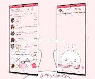 Rosa Rabbit Theme For YOWhatsApp & Fouad WhatsApp By Driih Santos