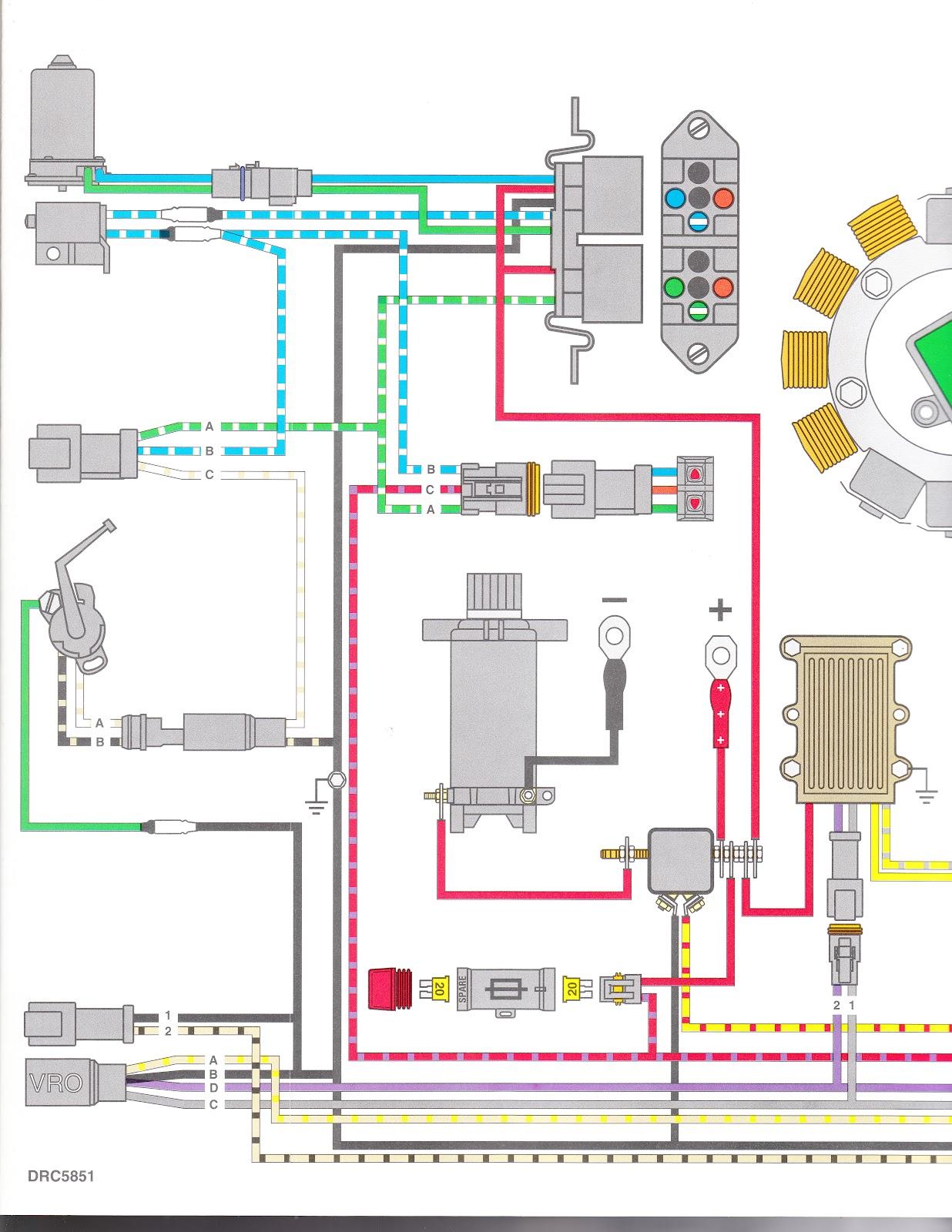 1977 evinrude wiring diagram 96' oceanrunner 115 tilt trim problem page: 1 - iboats ... 1998 evinrude wiring diagram