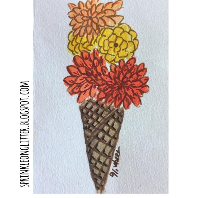 Summer bucket list - flower cone