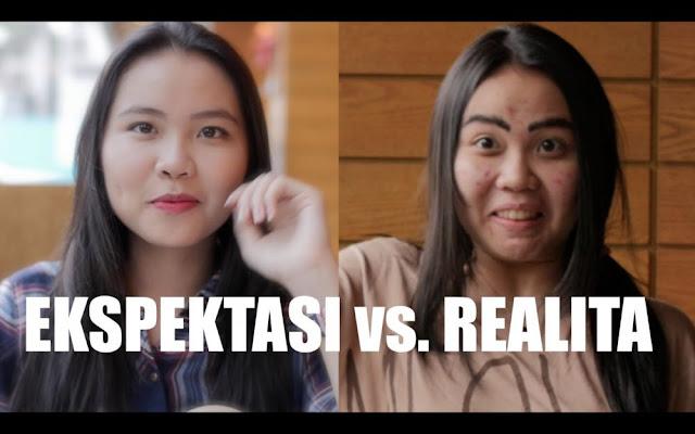 Meme Ekspektasi vs Realita