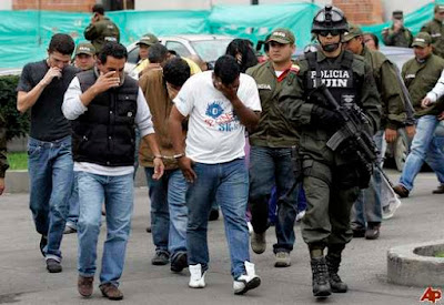 colombia drug traffickers 2008 10 31 12 34 54 Top 10 Biggest Mafias Around the world