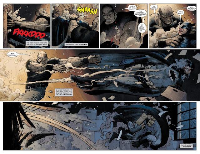 Reseña de El regreso del Caballero Oscuro: La última cruzada de Frank Miller y Azzarello, ECC Ediciones.