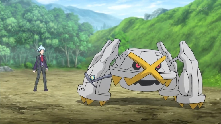 Metagross Shiny Anime Pokémon