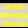 Contoh Surat Pernyataan Disiplin Tidak Pernah Mendapat Hukuman Karena Pelanggaran Peraturan
