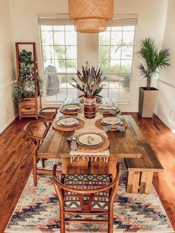 First-Time Home Buyers Make a Desert Boho Dallas House