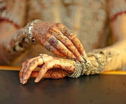 Beautiful Bridals Hands DPS For Girls