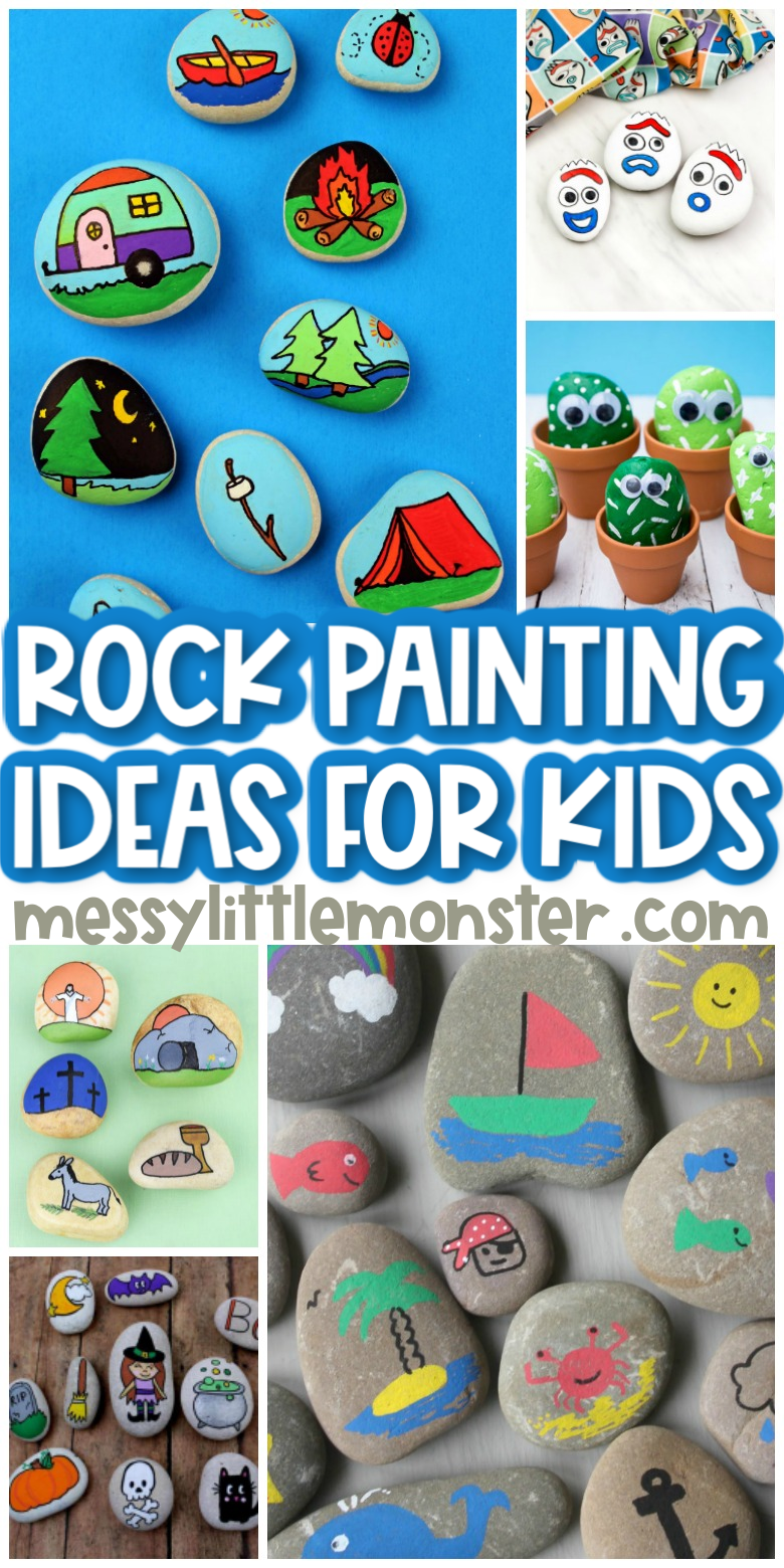 The BEST rock painting ideas for kids!