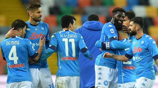 ملخص مباراة نابولي وإمبولي (3-2) في كأس إيطاليا
