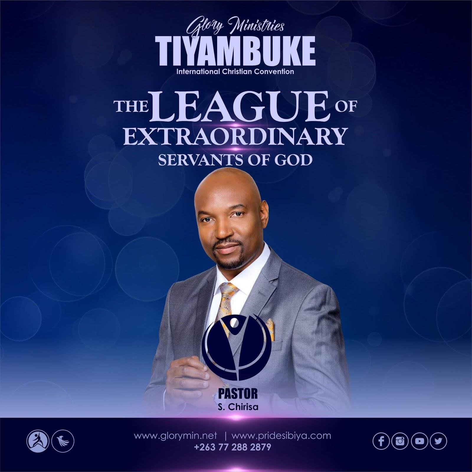 Doctor, Pastor S. Chirisa - The League Of Extra-Ordinary Servants Of God #Tiyambuke2019
