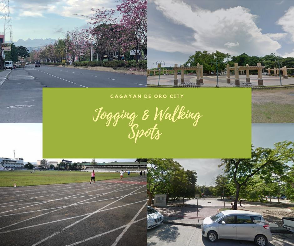 Jogging and Walking Spots in Cagayan de Oro City