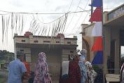 Walaupun Hujan, Warga Dusun Kayu Loe Antusias Laksanakan Sholat Id