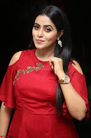 Poorna in Maroon Dress at Rakshasi movie Press meet Cute Pics ~  Exclusive 54.JPG