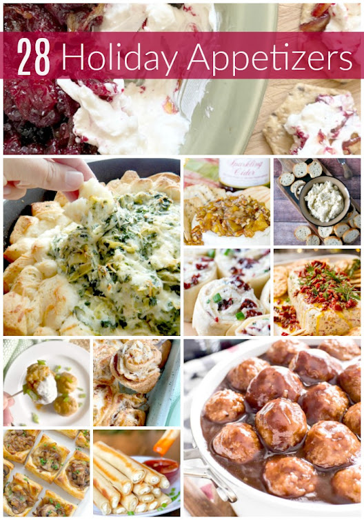 28 Holiday Appetizers