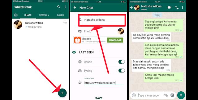 Fake Chat WhatsApp