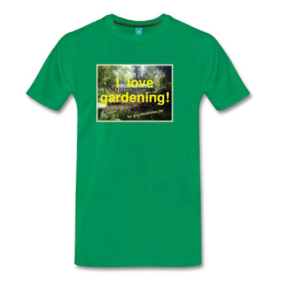 Shirt I love gardening