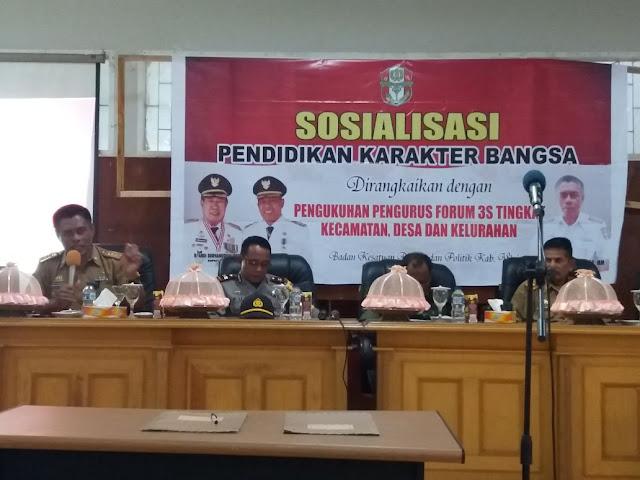 Bupati Wajo Kukuhkaan 510 Pengurus Forum 3S Kecamatan Tempe